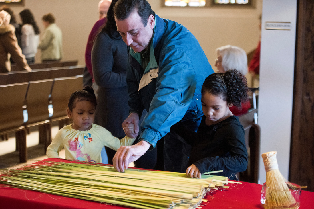 Palm Sunday at the Cathedral of Mary of the Assumption