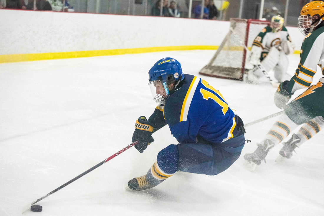 Midland vs. Dow hockey