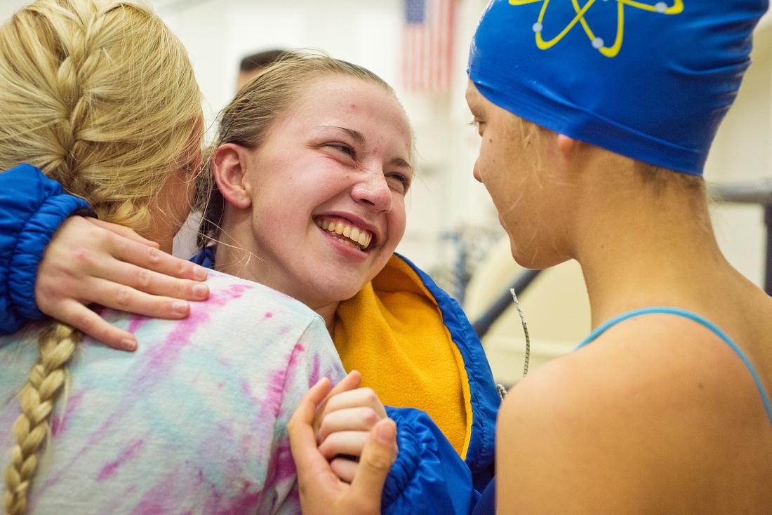 Dow hosts Midland High for girls' swim meet Oct. 23