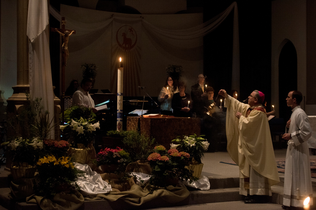 Easter Vigil Mass at the Cathedral