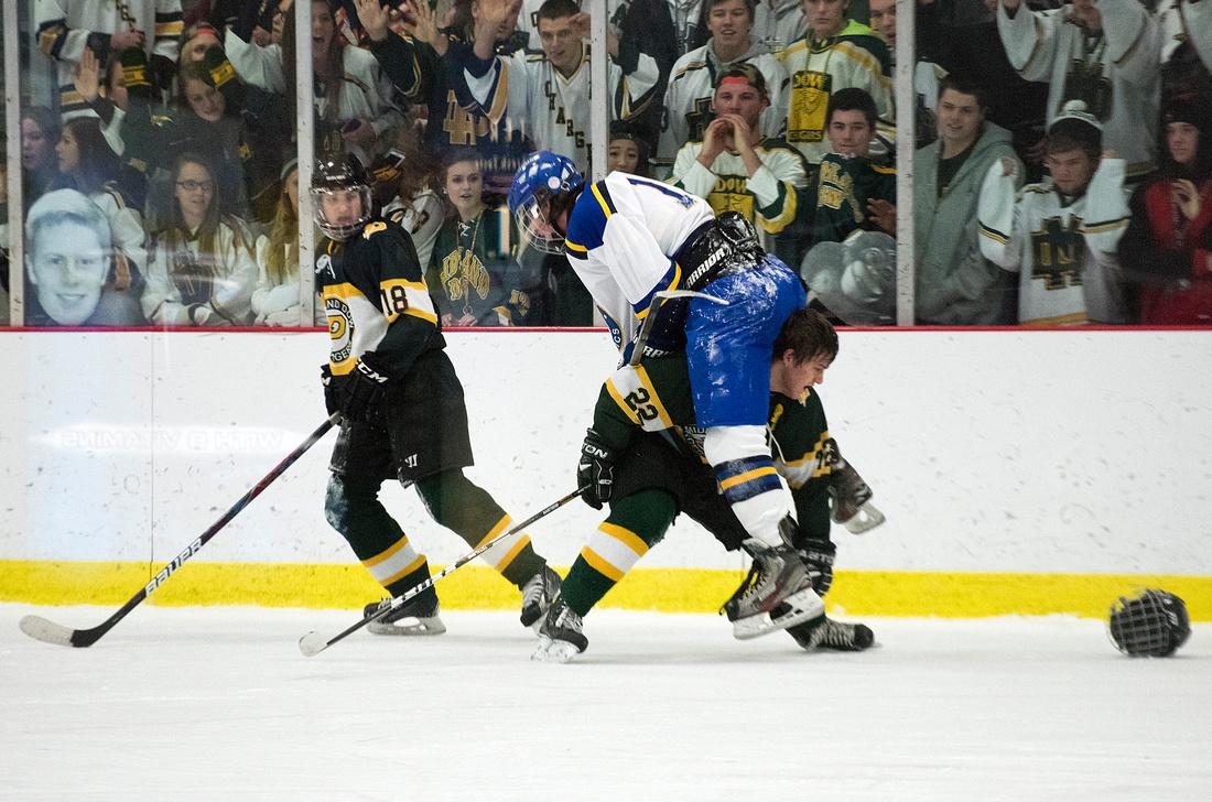 Midland versus Dow hockey, Dec. 17