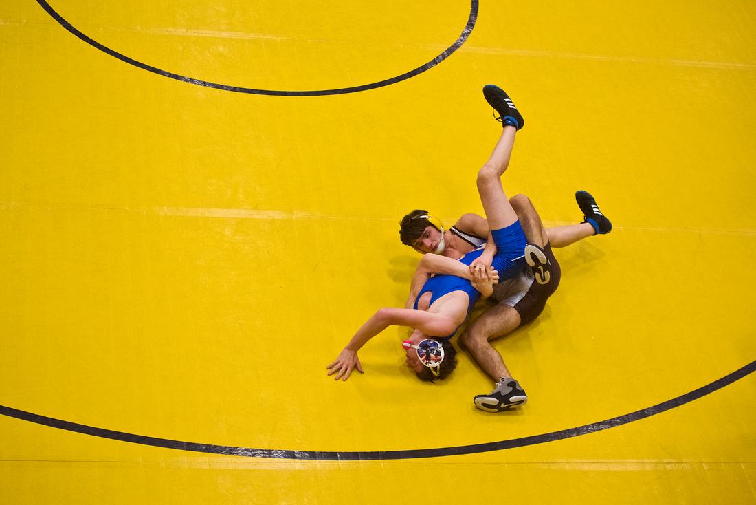 Midland, Dow and Bay City Western wrestling
