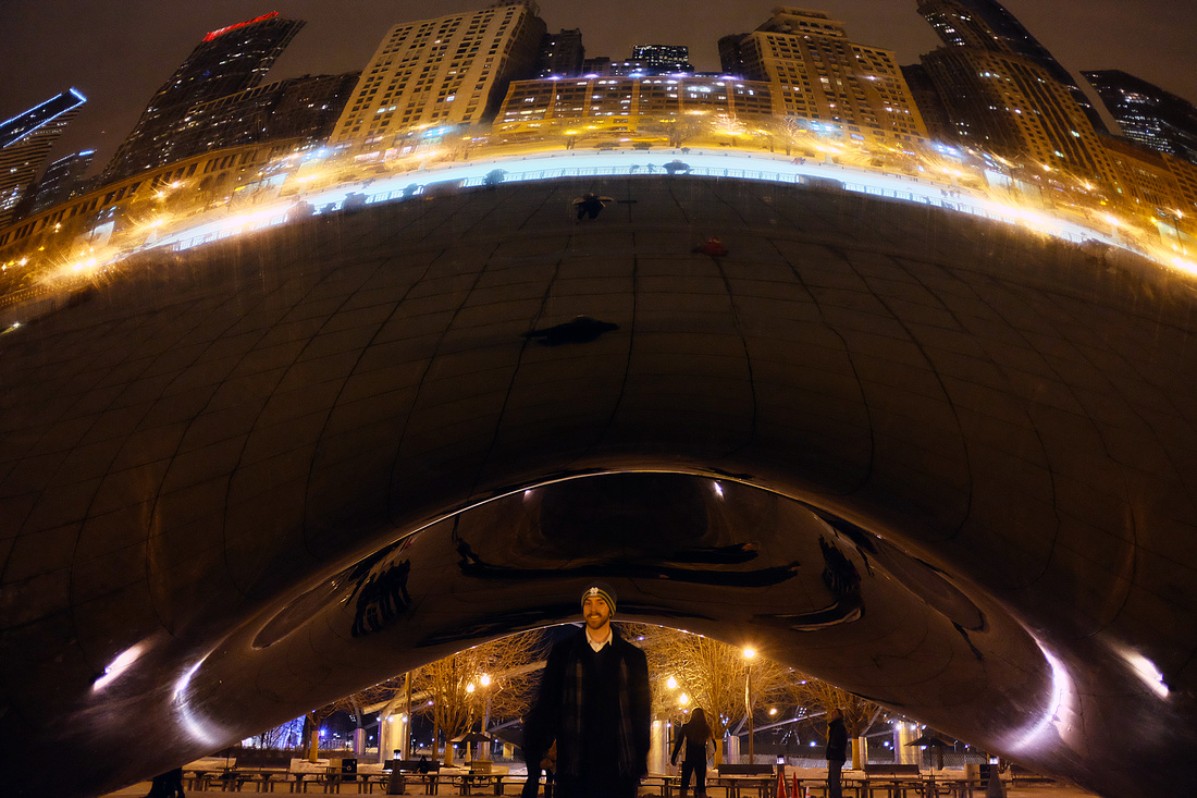 At the Bean